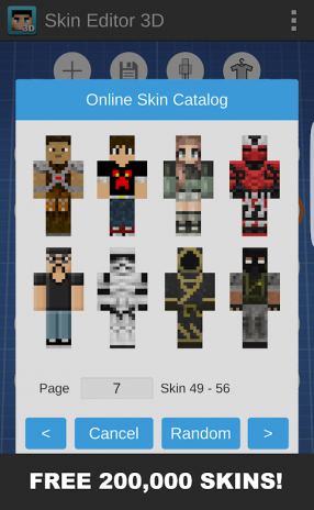 Skins Editor 3D