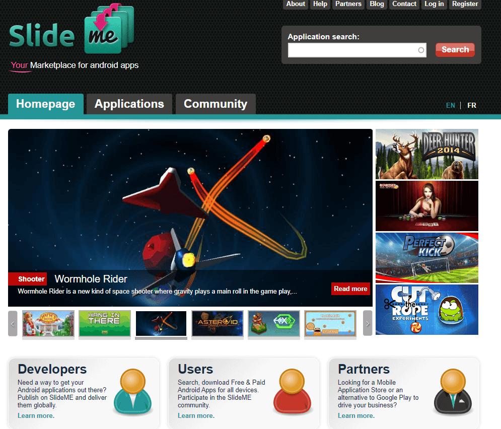 SlideMe - Google Play Store Alternative