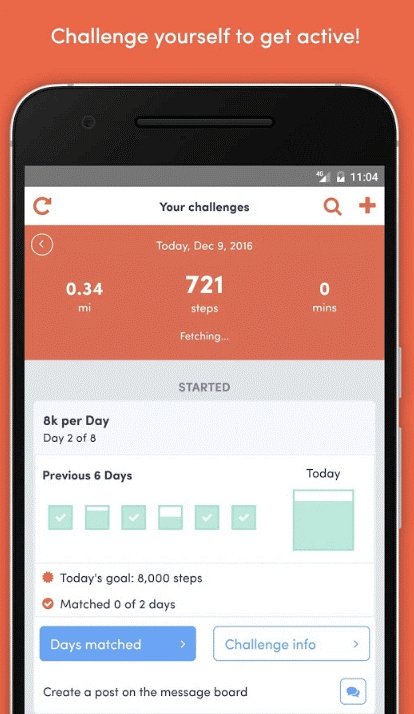 Stridekick - Office Workout App