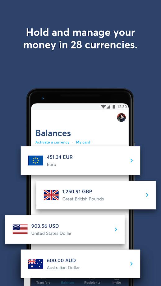 TransferWise - Money Transfer App