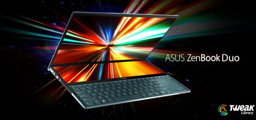 Asus-ZenBook Pro Duo dual-screen laptop