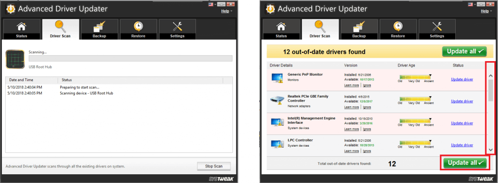 Update Drivers With ADU