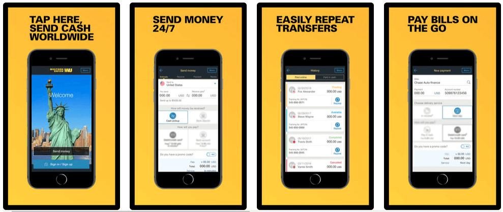 Western Union App - Money Transfer App