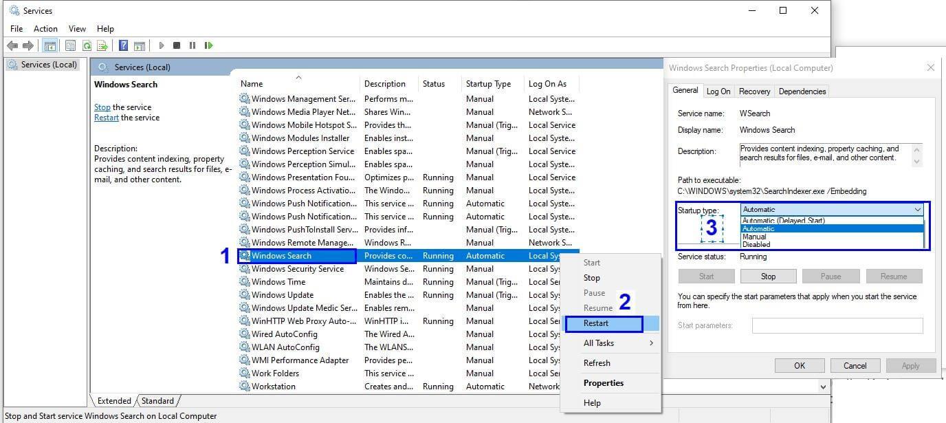 Windows Search Service