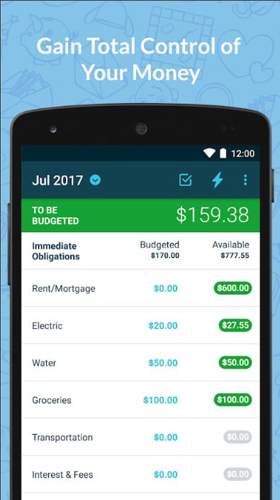 Best personal budgeting app