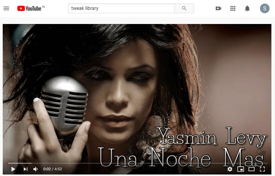YouTube Video - YouTube playback