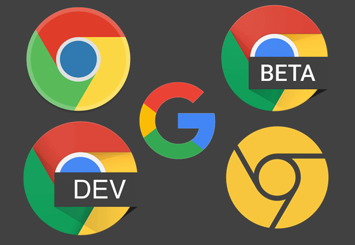 chrome versions - update chrome