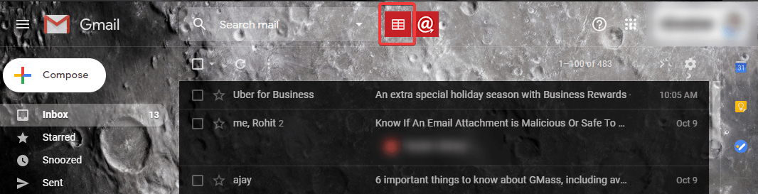 connect to a spreadsheet in gmail