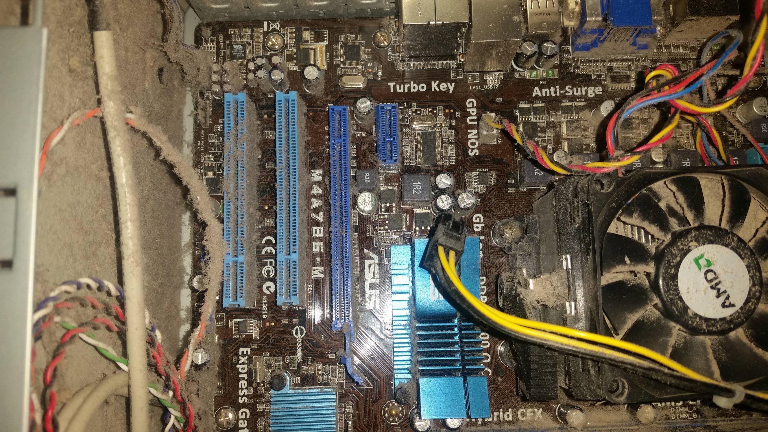 Dusty CPU