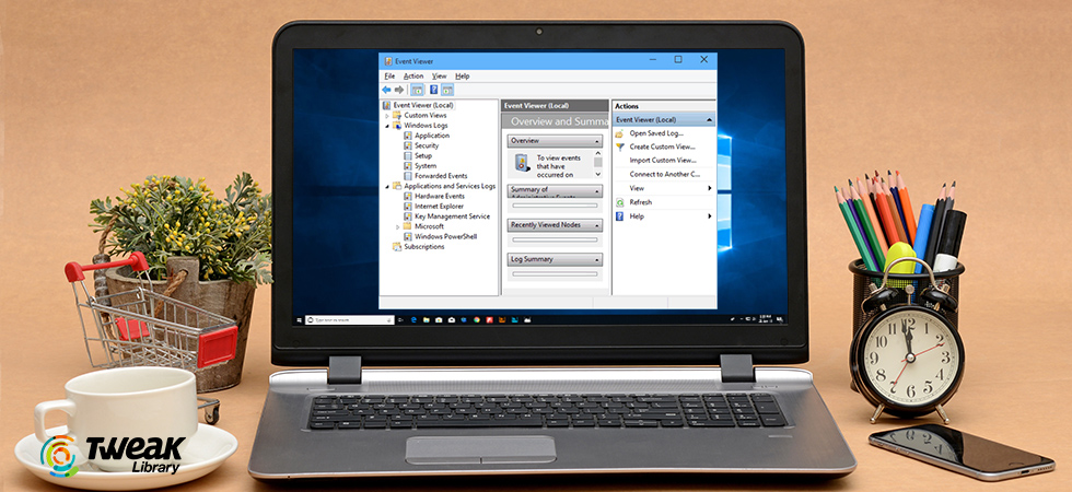 how to use event viewer on windows 10
