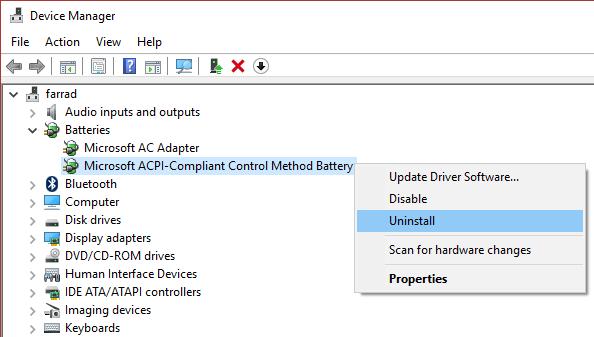 uninstall-Microsoft-ACPI-Compliant-Control-Method-Battery