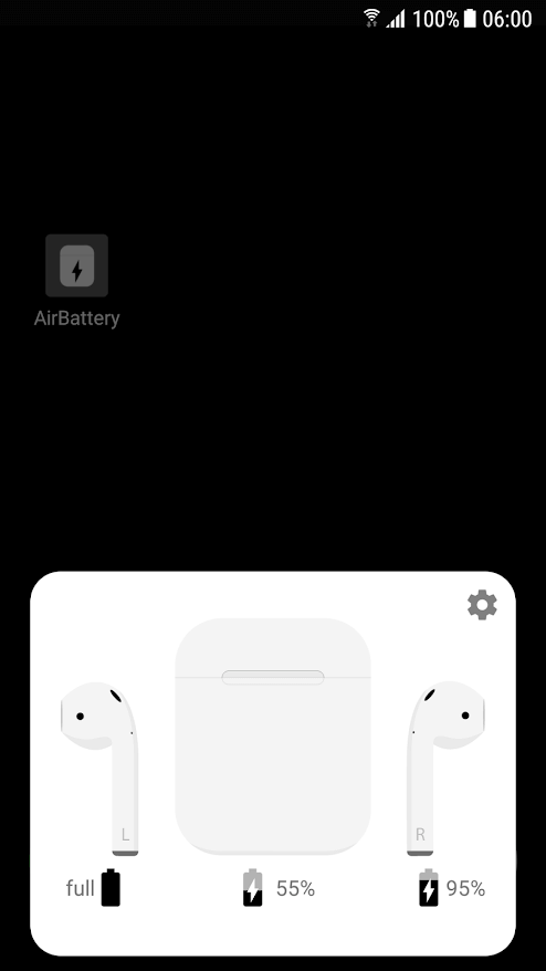 Check AirPod Battery On An Android Device