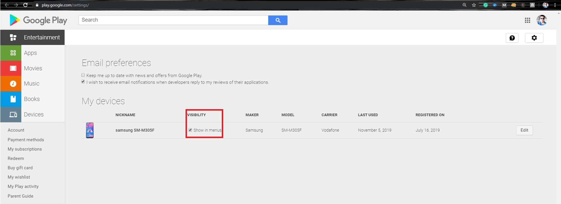 Check Google Play Services