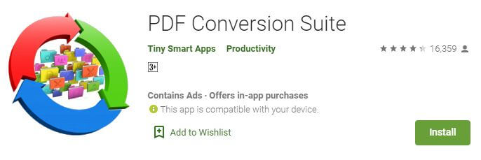 PDF Conversion Suite