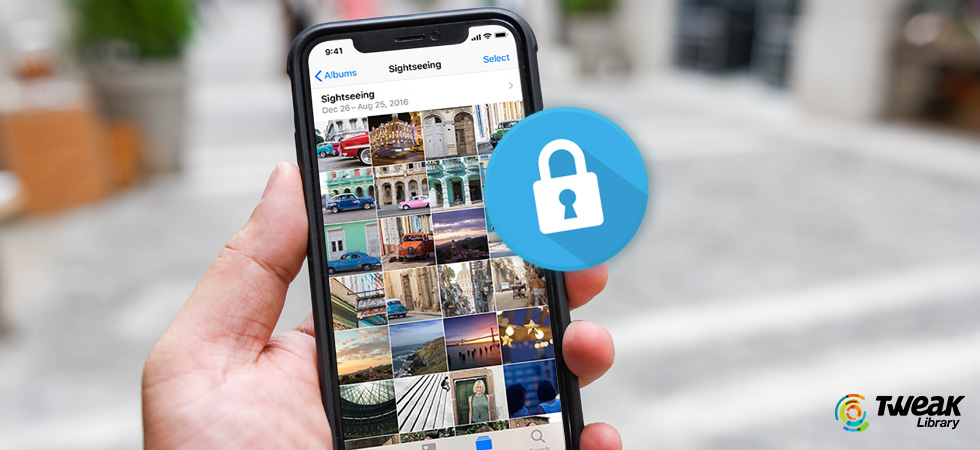 Password Protect Photos on iPhone