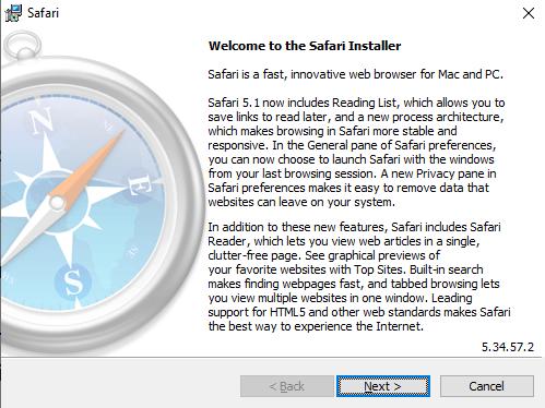 Safari Installer