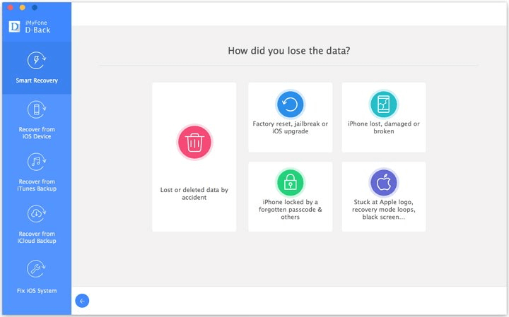 Select How You Lose Your Data