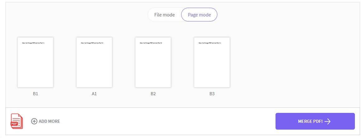 Smal PDF page view