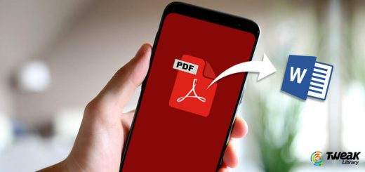 Top Ways to Convert PDF To Word On Android For Free