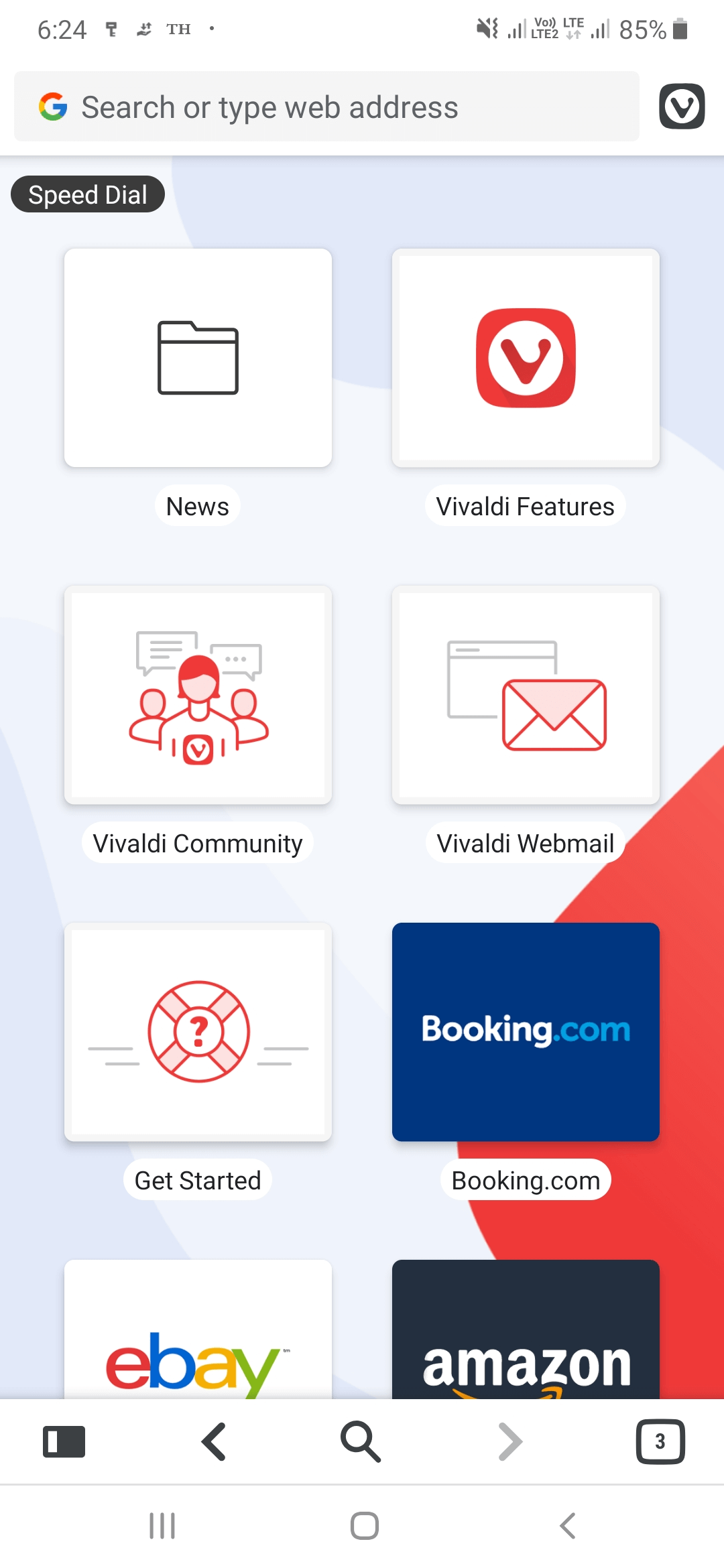User Interface - best browser for android 2019