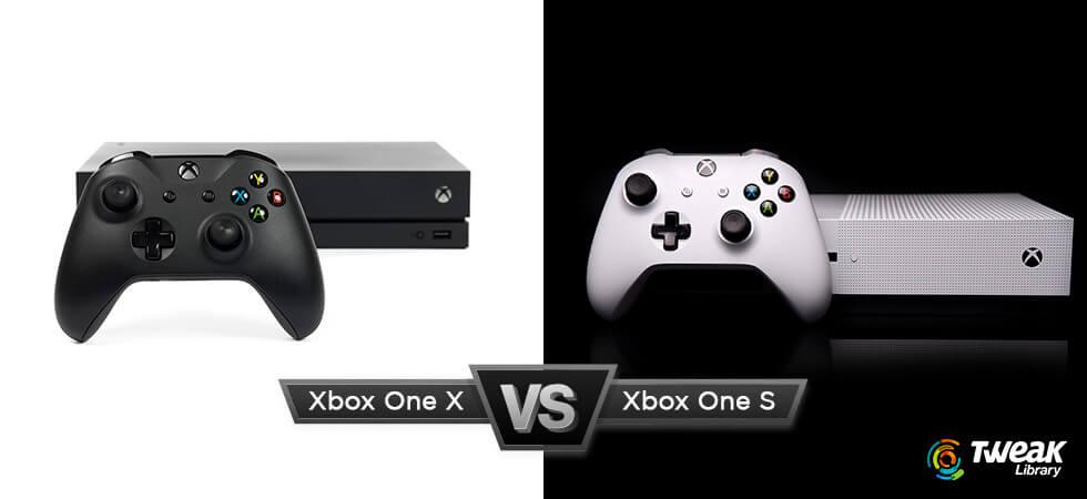 Xbox One S vs Xbox One X cover image