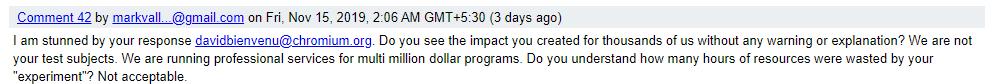 backclash comment 2 - chrome bug