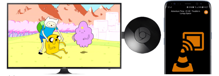 cast videos from vlc to chromecast - vlc chromecast