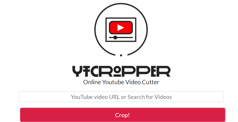 crop youtube