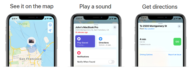 find lost airpods options