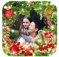 3D Merry Christmas Photo Frames