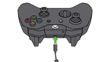 Connect USB to Xbox