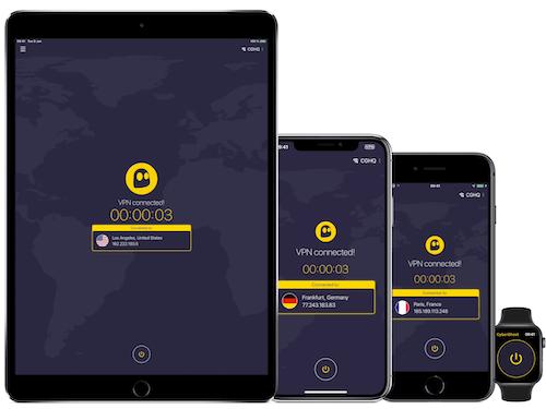 CyberGhost VPN_iPhone security app