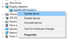 Display Drivers