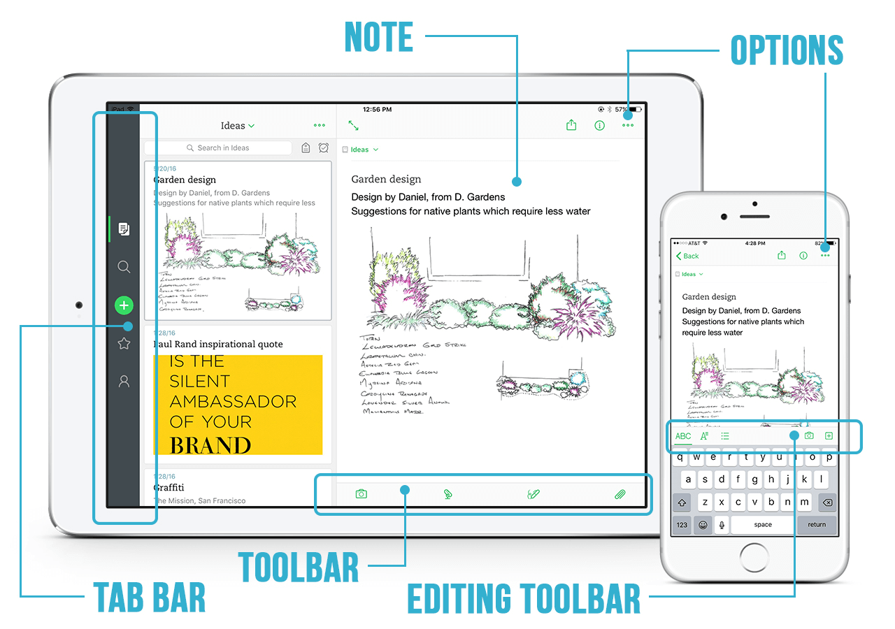 Evernote – Best note taking app for iPad