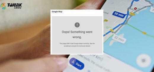 Fix For Google Maps Not Working On Android Problem