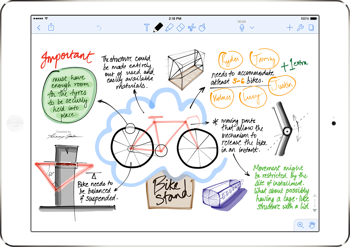 Notability – Modern note taking app for iPad