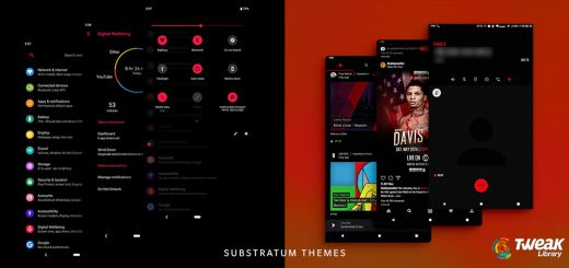 Substratum themes for Android