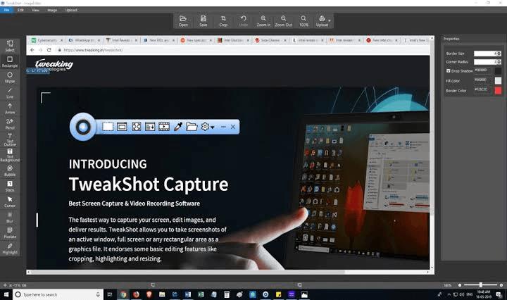 TweakShot Capture