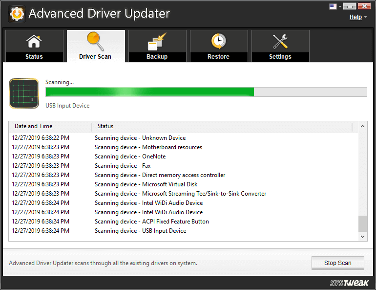 Update drivers automatically with Advanced Driver Updater