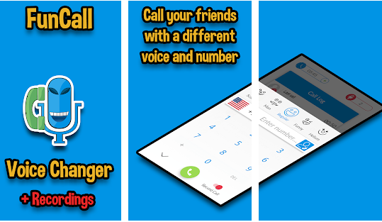 Funcalls - Voice Changer & Call Recording