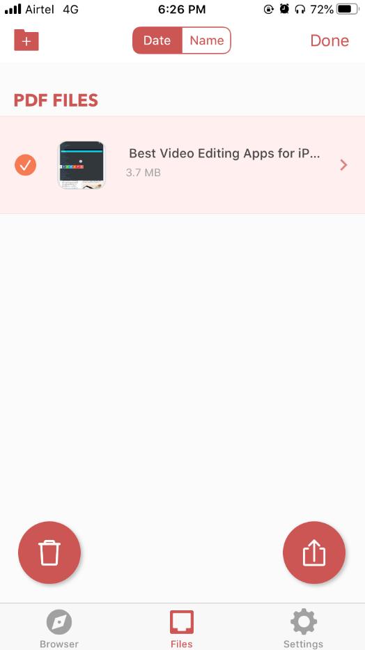 iOS Web to PDF Converter & Reader access files