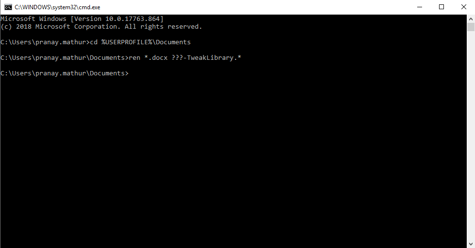 rename multiple files windows 10