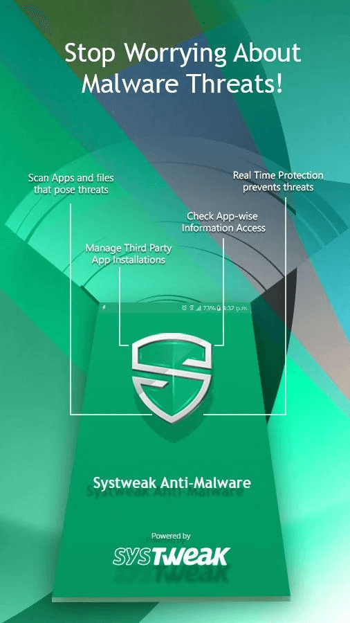 systweak anti malware - app permission