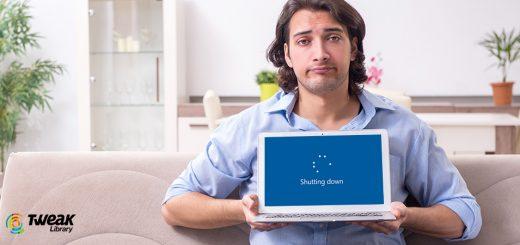 computer won't shut down