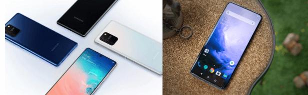 Samsung Galaxy S10 Lite Vs. OnePlus 7 Pro