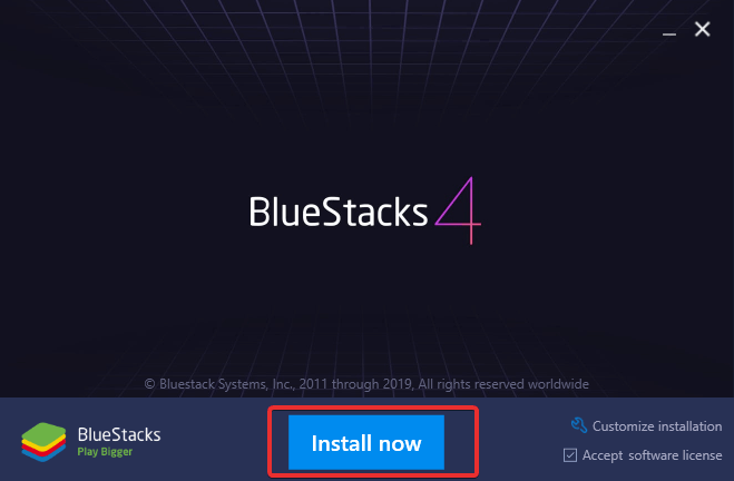 Bluestack App Store pops up