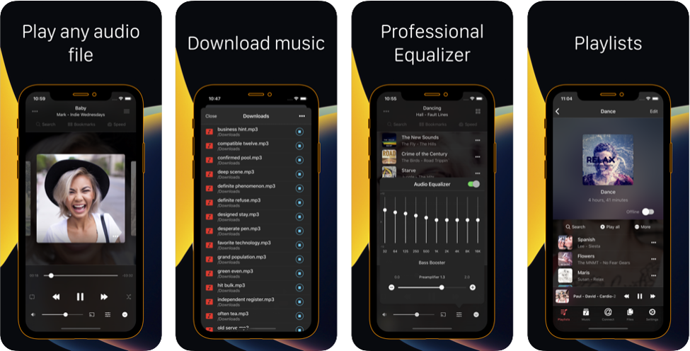 Flacbox FLAC player equalizer