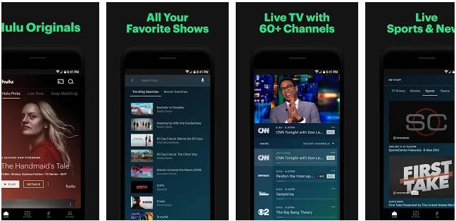 Hulu- Movie Streaming App