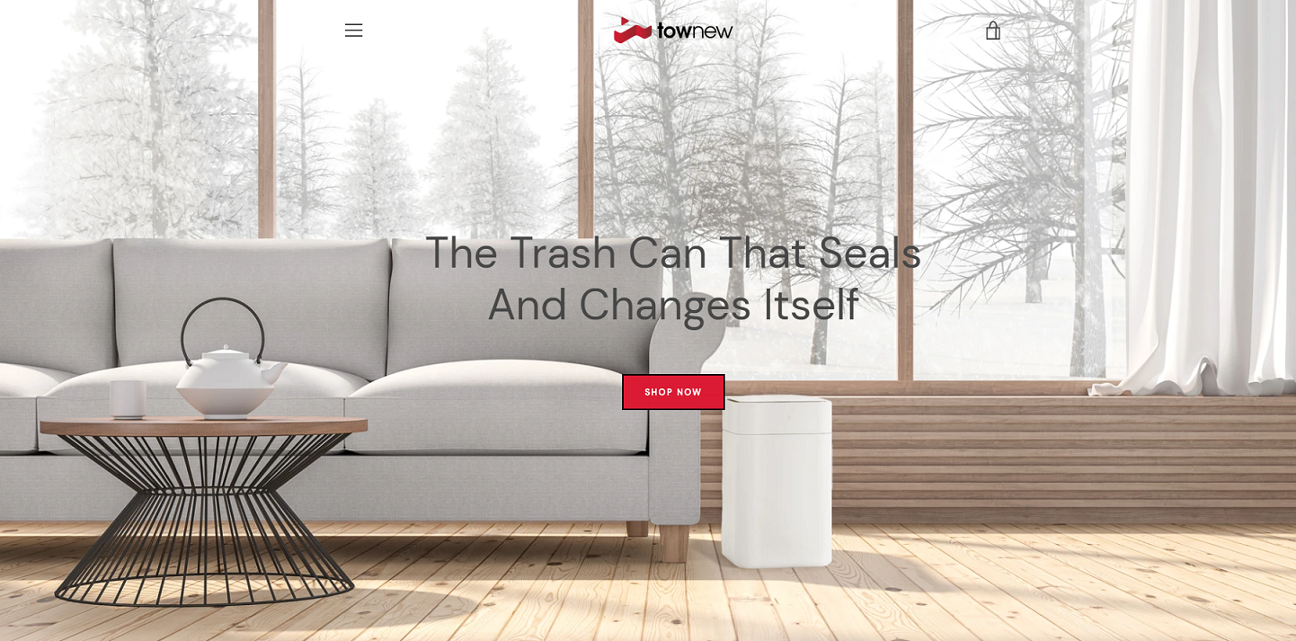 Knectek Townew - Trash Can