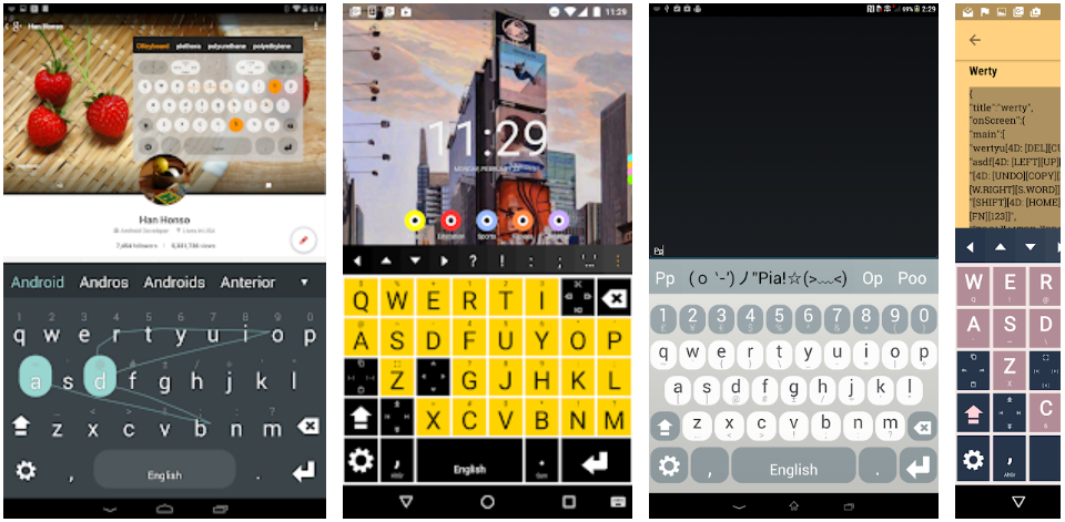 Multiling O Keyboard + emoji